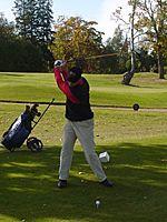 Pasi Purhonen PGA 2000 drive 1st tee