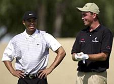 Tiger Woods voitti viimevuonna PGA:n , Thomas Björn oli kolmas