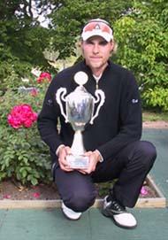 Ari Pasanen ja PGA:n mestaruuden kiertopalkinto
