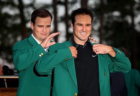 Vihreä takki Augustasta huhtikuussa on luonnollisesti Trevor Immelmanin uran suurin saavutus &copy Getty Images