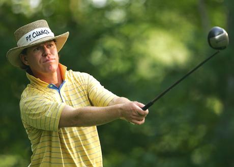 PGA Tourilla pelaava Briny Baird ei piittaa välinetrendeistä, vaan pelaa draiverilla, joka tuntuu hyvältä.  &copy Getty Images