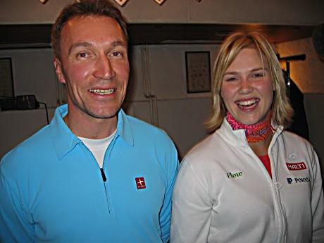 Timo Rauhalan yhteistyö Minea Blomqvistin kanssa tuotti loistotuloksia kaudella 2008.