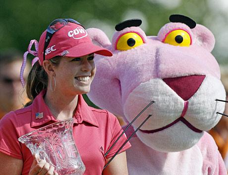 Paula Creamer pääsee tavoittelemaan halutessaan 31 LPGA-turnauksen voittoa kaudella 2009. &copy Getty Images