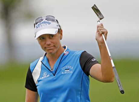Kiitos ja näkemiin, toteaa Annika Sörenstama LPGA Tourille viikonloppuna &copy Getty Images