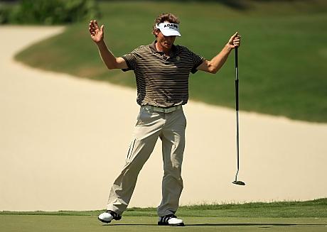 Bernhard Langer on voittanut 40 kertaa ET:lla, kolmasti ekä PGA Tourilla että Champions Tourilla &copy Getty Images