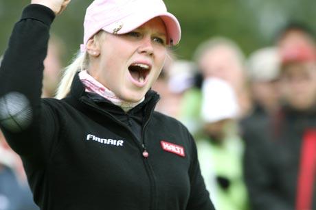 Minea Blomqvist oli odotettu valinta kauden pelaajaksi.