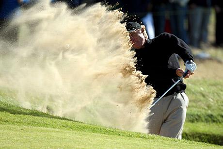 Greg Norman nousi kaudella 2008 vielä kerrn taistelemaan major-kisan voitosta &copy Getty Images