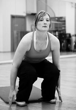 Stenna Westerlund on kehittynyt valtavasti kahden ensimmäisen treenikuukauden aikana. (Kuva Antti Luukkonen)