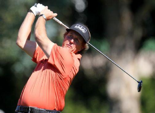 Phil Mickelsonilla on nyt nälkää menestykseen.  &copy Getty Images