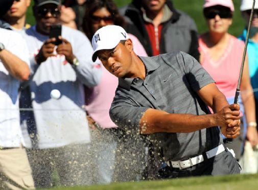Tiger Woodsilta odotetaan Arizonan reikäpeliturnauksessa enemmän kuin aikoihin.  &copy Getty Images