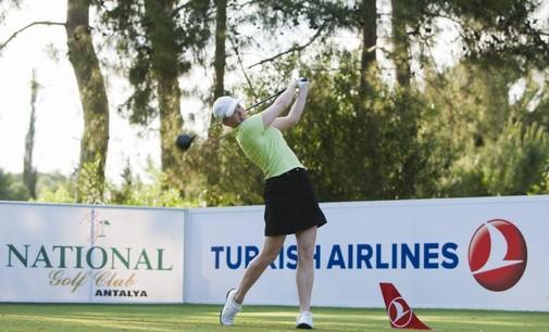 Ursula Wikström pelasi upeasti kakkoseksi Turkin avoimissa. Kuva: LET