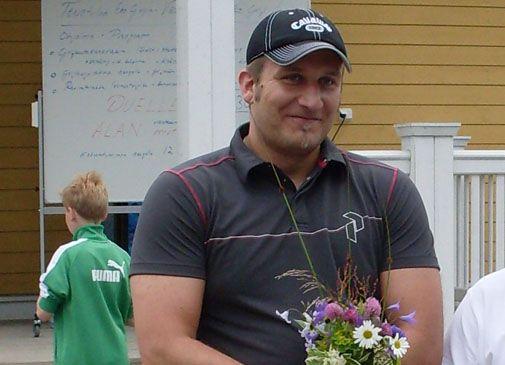 Conny Karlsson uskoo suomalaisurheilijoiden mitalimahdollisuuksiin yleisurheilun EM-kisoissa. Kuva: Eke Golf