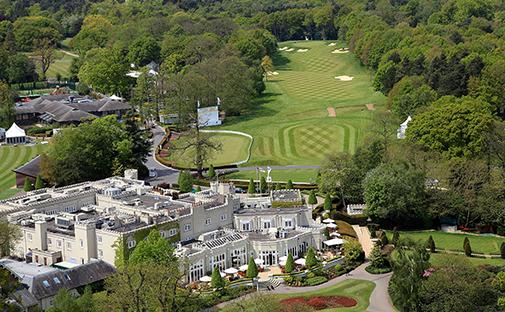 Wentworth Clubilla pelataan BMW PGA Championship toukokuussa. Kuva: Getty Images