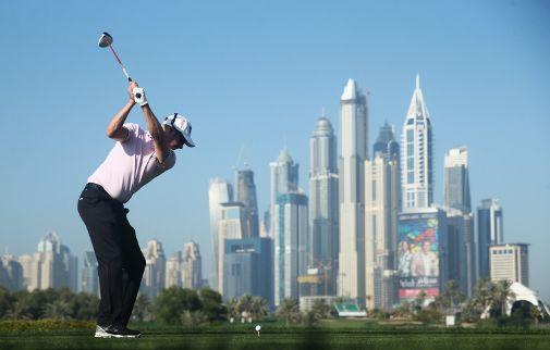 Mikko Ilonen pelasi vakuuttavasti Dubain turnauksen kolmannella kierroksella. Kuva: Getty Images