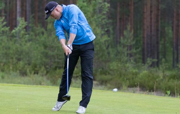 Matias Honkala antoi kilpakumppaneilleen myrskyvaroituksen heti kauden ensimmäisessä turnauksessa. Kuva: Juha Hakulinen