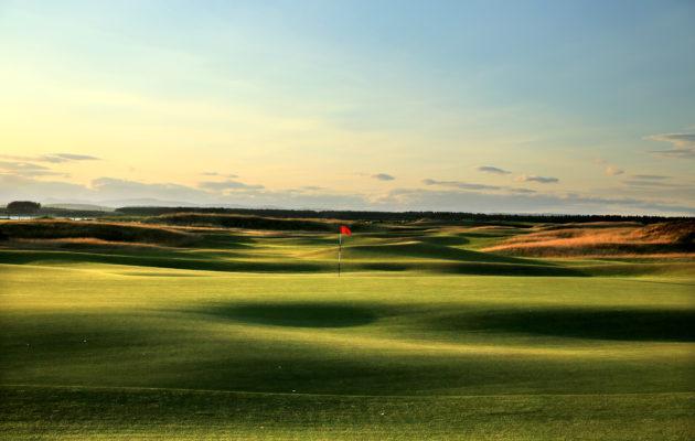 Golfkentille ei Skotlannissakaan ole enää yhtä paljon tulijoita kuin takavuosina. Yritykset kehityksen suunnan muuttamiseksi eivät kuitenkaan ole vielä kantaneet hedelmää. Kuva: Getty Images.
