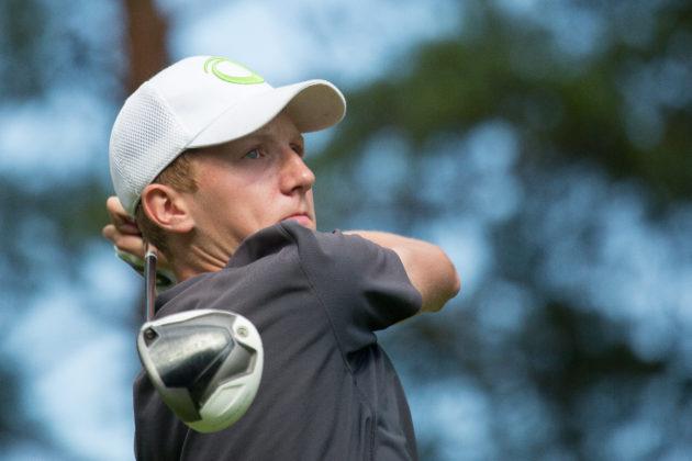 Suomen MM-joukkueessa syksyllä pelanneen Ilari Saulon otteet yliopistogolfissa ovat olleet lupaavia.