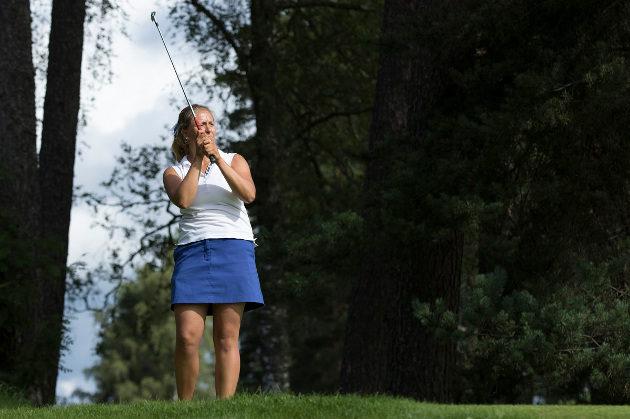 Onko naisten turnauksesta muodostumassa Jenna Mäihäniemen yksinnäytös? Kuva: Juha Hakulinen