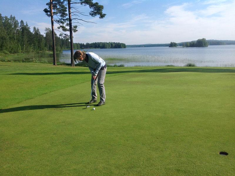 Alamäkeen lyötävä Old Coursen seitsemäs on syystäkin valittu Golf Digestin Dream 18- reikien joukkoon.