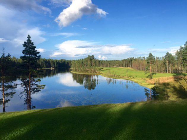 Kuusamo Golf, tee 1.