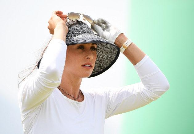 Maria Verchenova iski vielä kisan päätöspäivänä uuden kenttäennätyksen. Kuva: Getty Images