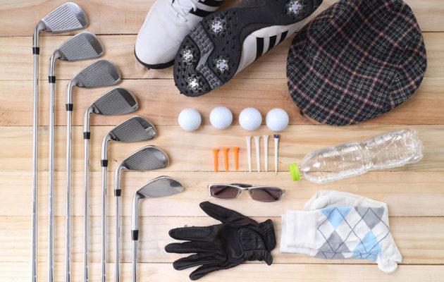 Golfissa on runsaasti erilaisia välineitä, mutta aloittelija tarvitsee aluksi vain perusvarusteet.
