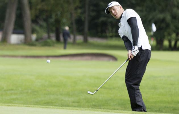 Matias Honkala pelaa seuraavan kilpailunsa St.Andrewsin Old Coursella.Kuva: Juha Hakulinen