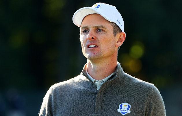 Justin Rosen mielestä Hazeltine ei haastanut pelaajia tarpeeksi Ryder Cupin päätöspäivänä. Kuva: Getty Images