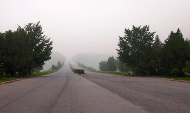 Moottoritiellä vastaantulijat ovat harvinaisia ilmestyksiä.