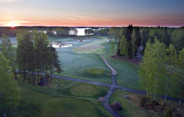 Sea Golf Rönnäsin klubille murtauduttiin viime sunnuntain ja maanantain välisenä yönä. Kuva: Janne Ekman