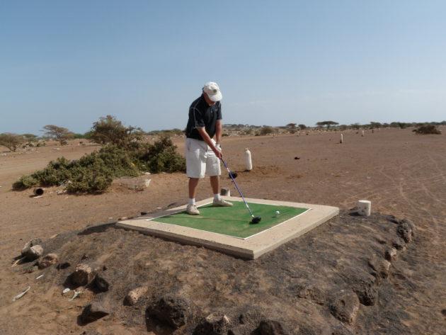 Djiboutissa lyöntipaikat erottuivat selkeästi.