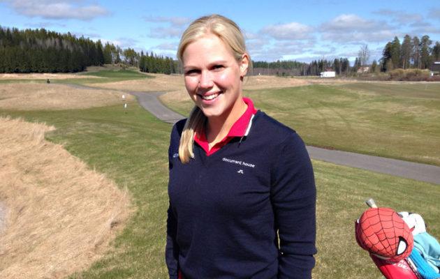 MInea Blomqvist-Kakko pelasi mainiosti Intian avoimen mestaruuskilpailun päätöspäivänä.