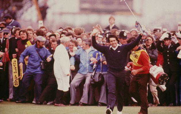 Seve Ballesteros saavutti kaksi kolmesta Open Championship-voitostaan Royal Lytham & St Annesin kentällä. getty images
