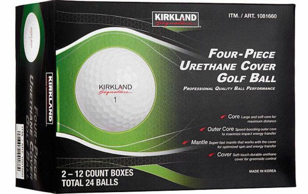Kirkland Signature hämmensi viime talvena golfpallomarkkinoita Yhdysvalloissa. Kuva: Costco