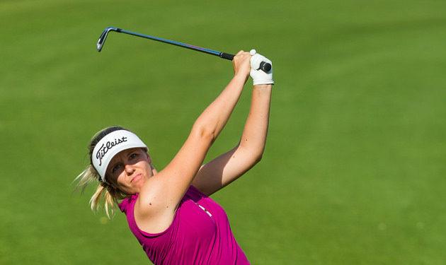 Noora Tamminen käynnistää  helmikuussa jo viidennen kautensa Ladies European Tourilla. Kuva: Tristan Jones/LET