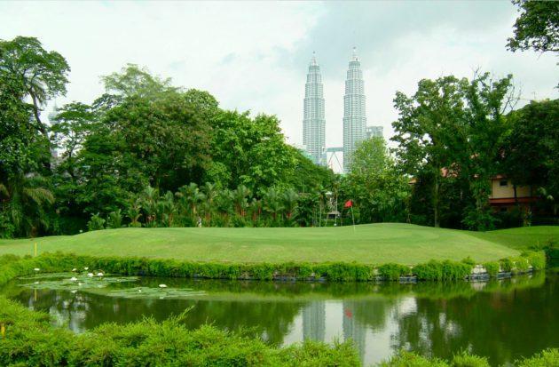 Petronas Towers kuuluu Kuala Lumpurin kaupunkikuvaan