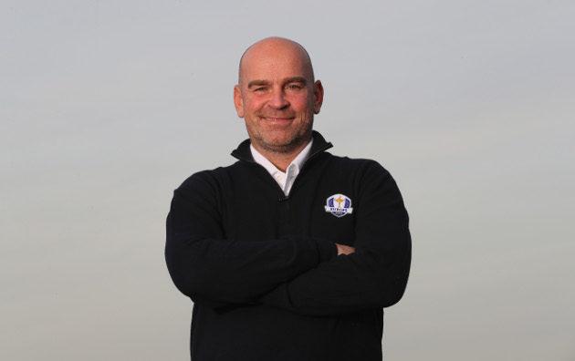 Thomas Bjørn kipparoi Euroopan joukkuetta vuoden 2018 haasteottelussa seitsemän Ryder Cupin kokemuksella. Kuva; Getty Images