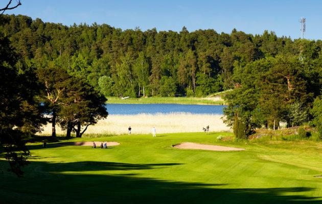 Perinteikäs Aura Golf kuuluu Suomen vanhimpiin kenttiin ja seuroihin. Kuva: Aura Golf.