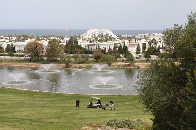 Al Kantaouin Panorama-kenttä lukeutuu Tunisian parhaisiin, mutta sekin on kärsinyt rankasta pelaajakadosta.