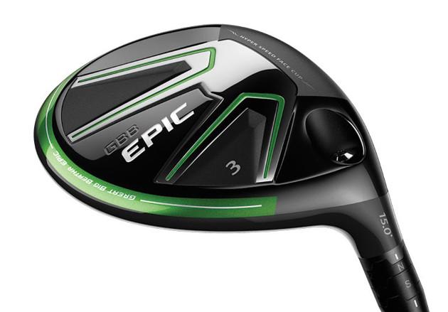 Epic-väyläpuiden kruunu painaa ainoastaan vajaat kuusi grammaa. Kuva: Callaway Golf