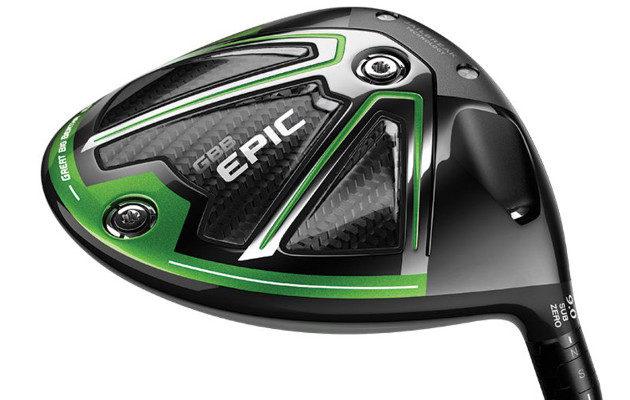 GBB Epic Sub Zero tarjoaa yhdistelmän tour-draiverin suorituskykyä ja anteeksiantavuutta. Kuva: Callaway Golf