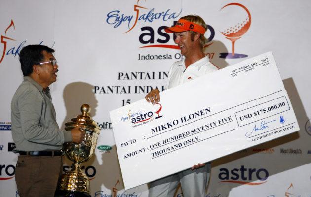 Mikko Ilonen oli 27-vuotias ensimmäisen ET -voittonsa saavuttaessaan. Kuva: getty Images