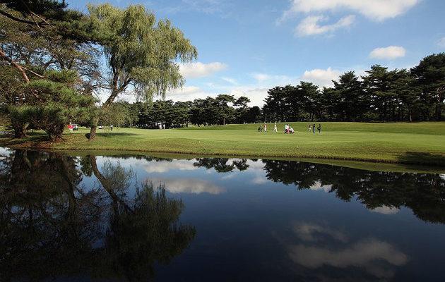 Kasumigaseki Country Club on arvioitu Japanin kenttärankingissa top 5:een. Kuva: Getty Images