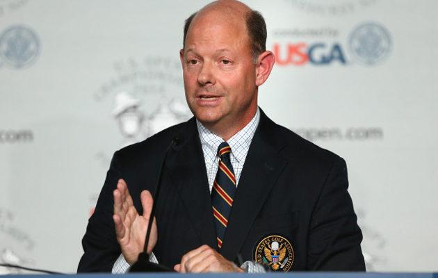 27 vuotta USGA:n palveluksessa ollut Davis näkee golfin ainoana mahdollisuutena lajin kehittymisen tulevaisuuden tarpeita vastaaviksi. Kuva: Getty Images