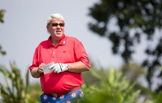 John Daly tulee olemaan yksi Bay Hillin turnauksen seuratuimmista pelaajista. Kuva: Getty Images