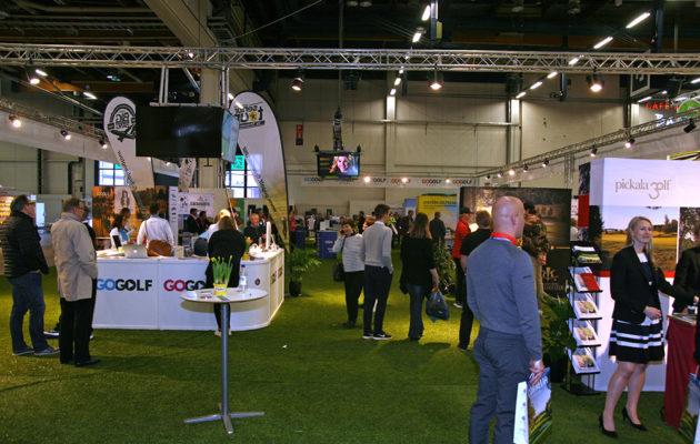 GoGolfin osasto kuuluu golfmessujen suurimpiin.