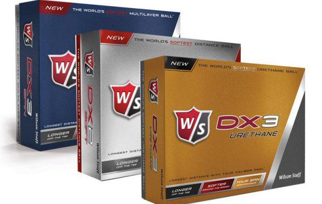 Wilson Staffin DX-sarjan pallot tarjoavat eri kategorian pelaajille kaiken tarpeellisen. Kuva: Wilson Golf