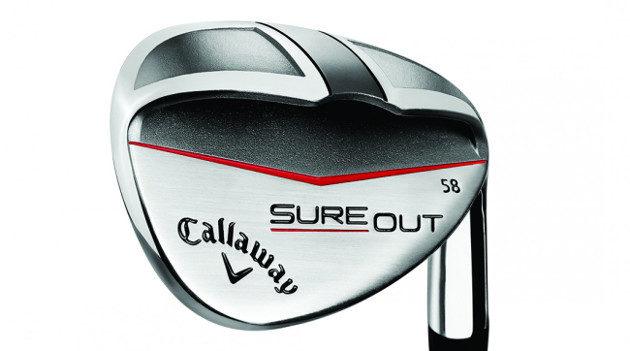 Callawayn uusi Sure Out -wedge nostaa pallon vaivatta hiekasta, vaikka lavan lyöntipinta on kohtisuorassa. Kuva: Callaway Golf
