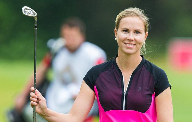 Linda Henriksson venyi uransa kirkkaimpaan saavutukseen Sveitsin 40 000 euron turnauksessa. Kuva: Tristan Jones/LET
