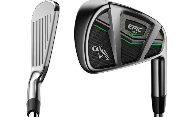 Uusien Epic-rautojen Pro-versio on hieman sirorakenteisempi tavalliseen malliin verrattuna. Kuva: Callaway Golf